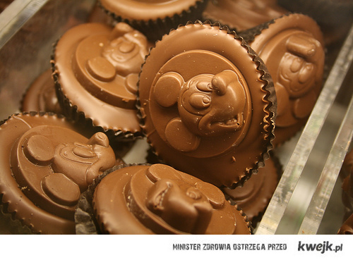 mickey mouse chocolate