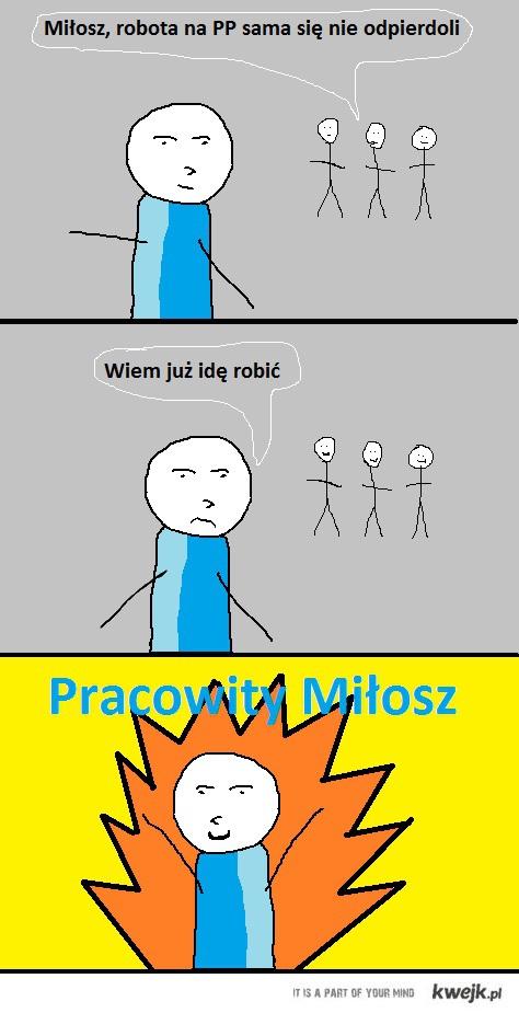 Pracowity Milosz