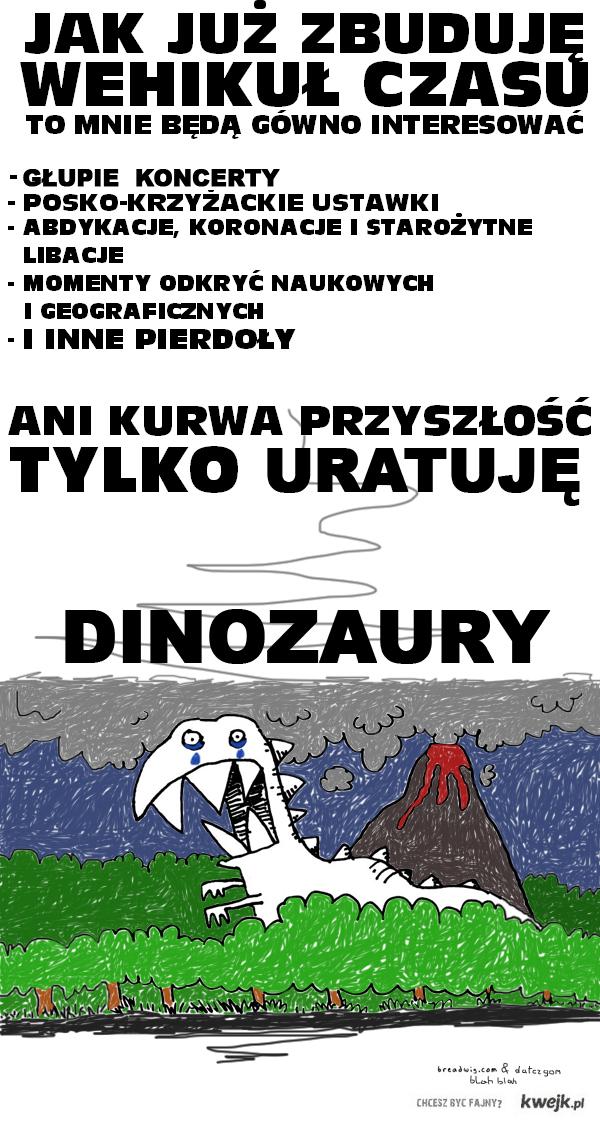 wehikul dinozaury