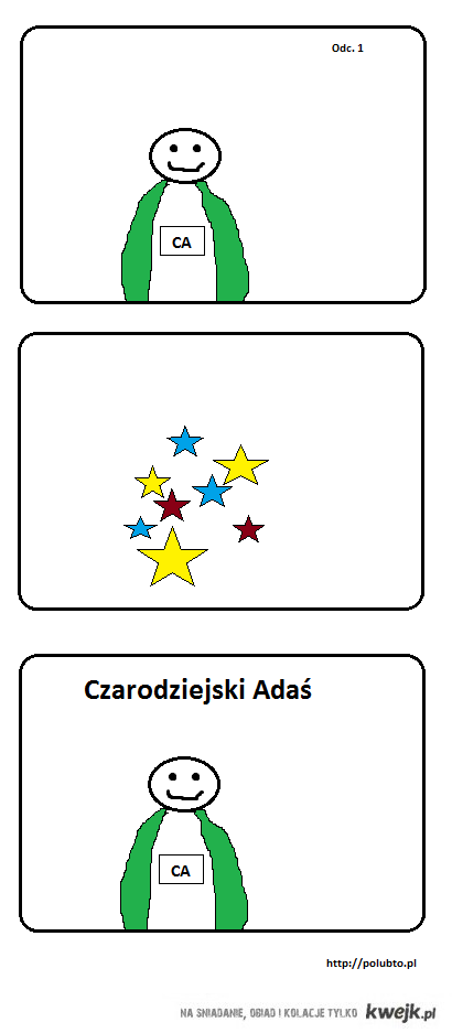 Czarodziejski Adaś Odc. 1