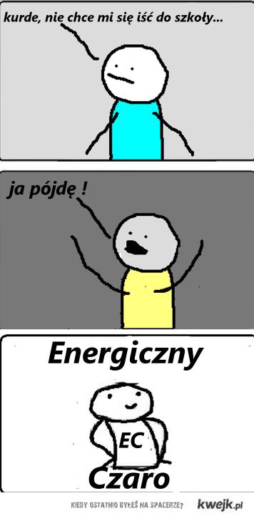 Energiczny Czaro