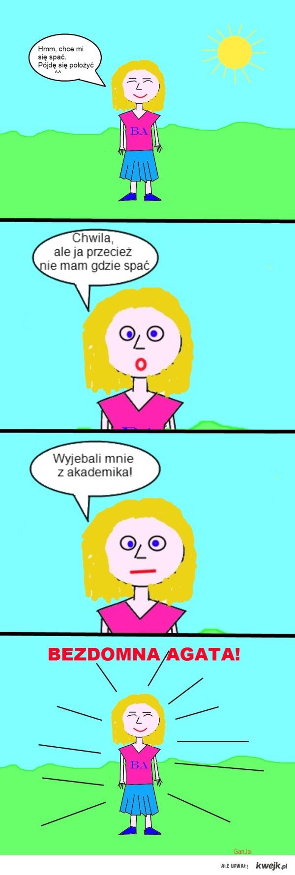 Bezdomna Agata