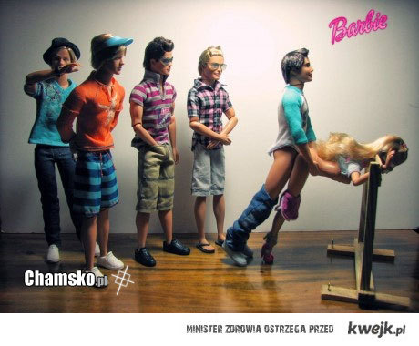 Pociąg do Barbie