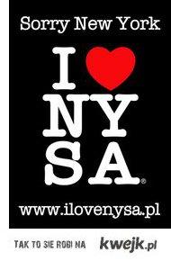 Sorry New York ! I Love NYSA ! <3