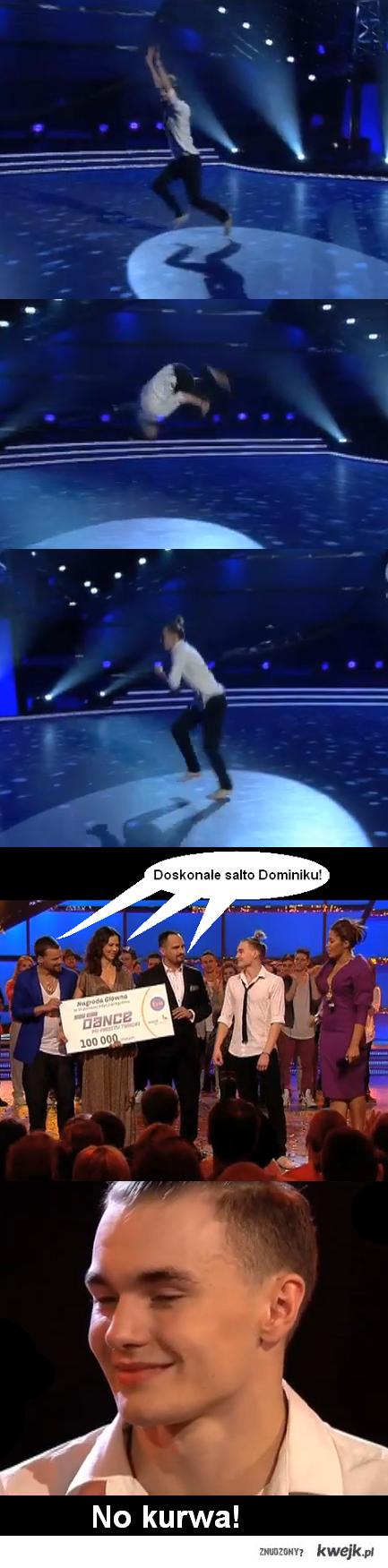 Salto Dominika w finale You Can Dance