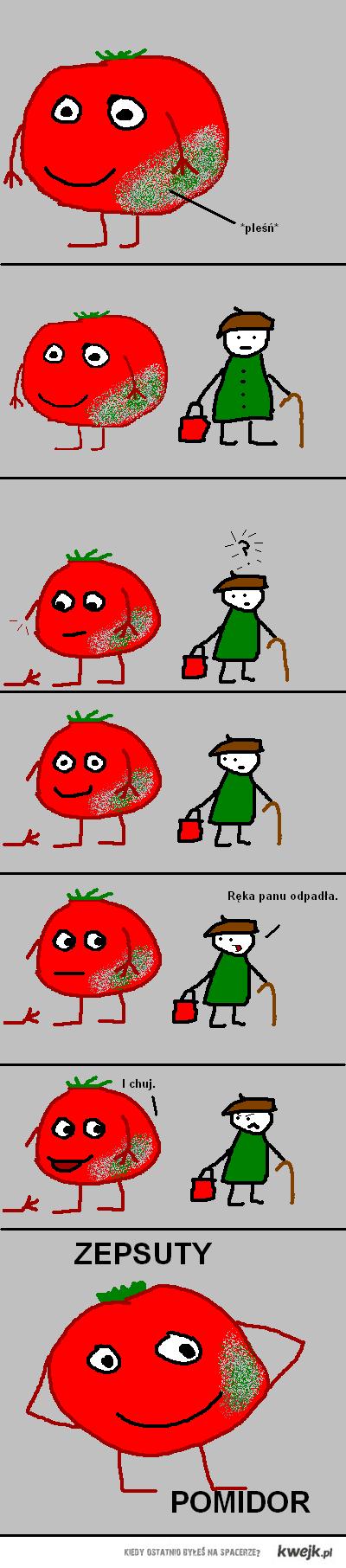 zpesuty pomidor