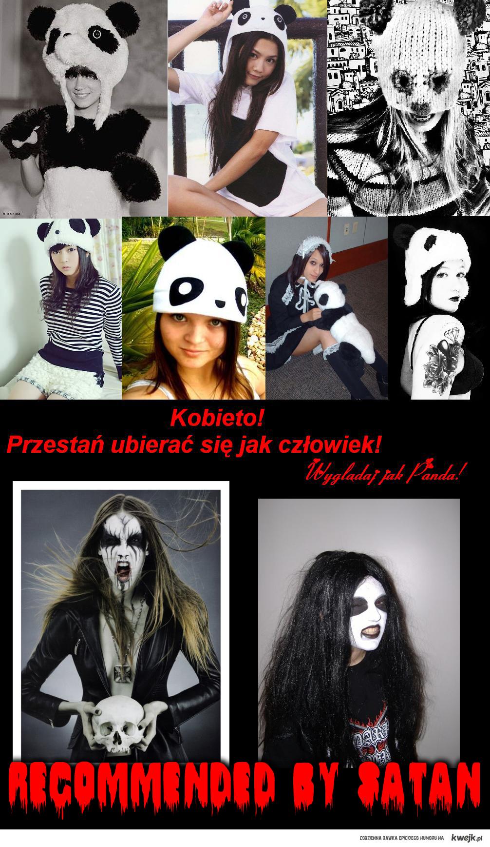 Females that look like panda sind Krieg!