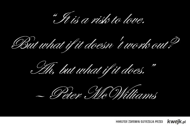 Love - Peter McWilliams