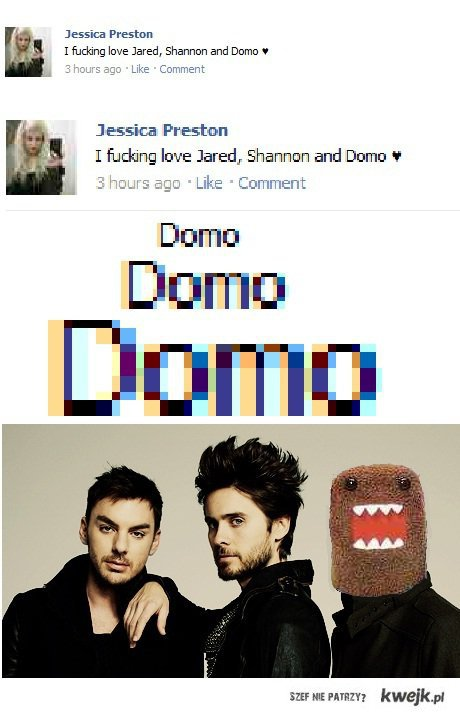 jared, shannon and DOMO