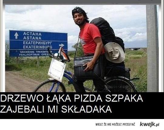 podrozowal po calym swiecie, a w Polsce go okradli!