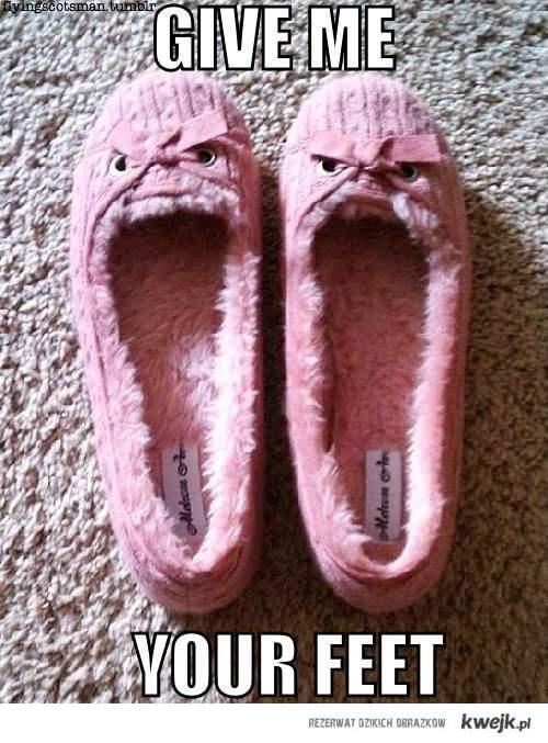 evil pantofle