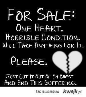 Sprzedaje Serce
