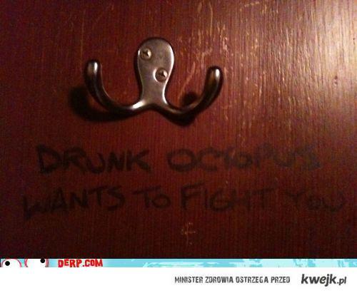 drunkoctopis