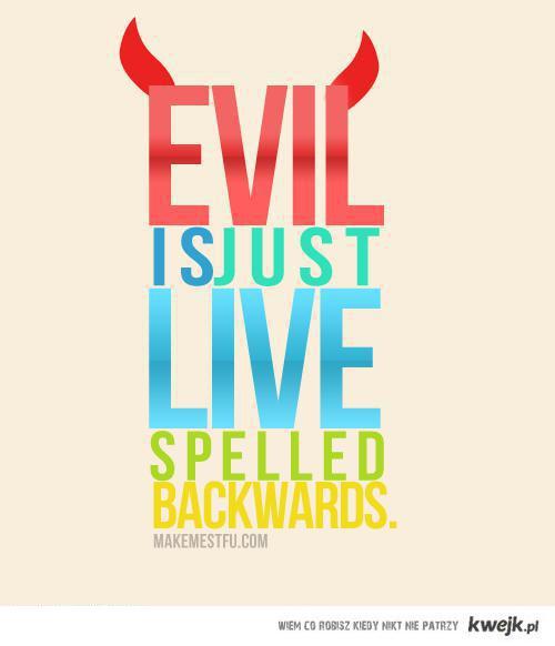 evilisjust