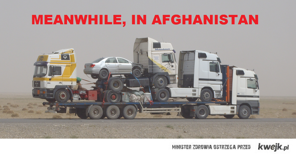 meanwhile, in afghanistan