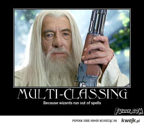 multiclassing