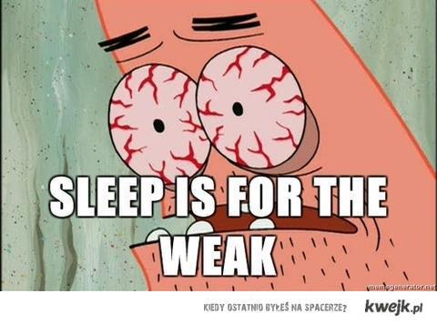 sleepisforweek