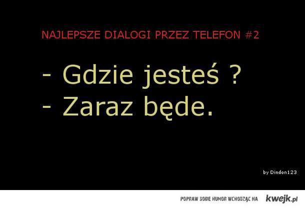 rozmowy przez telefon