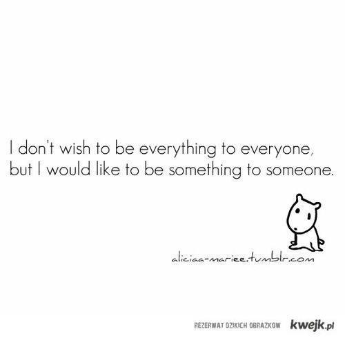I dont wish
