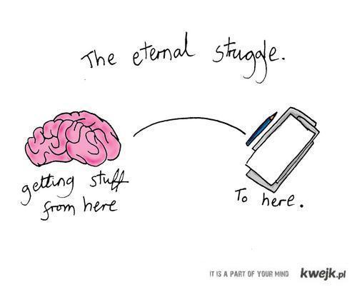 Eternal strugle