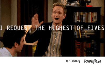 Request the highest of fives