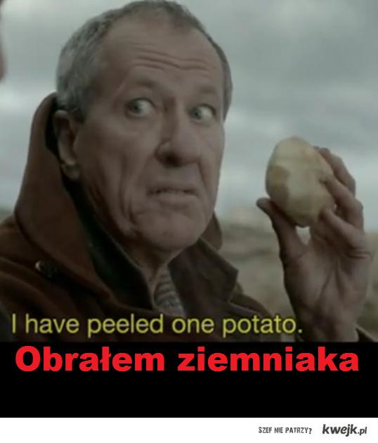 Obrałem ziemniaka