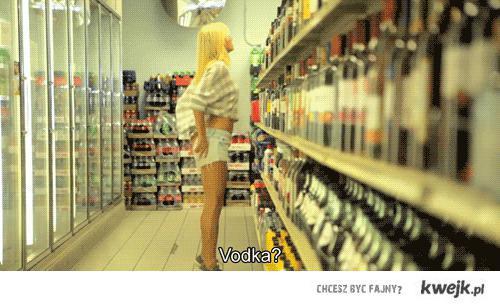 vodka; D