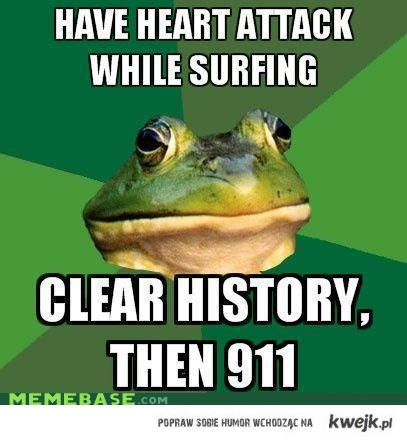 clean history then 911