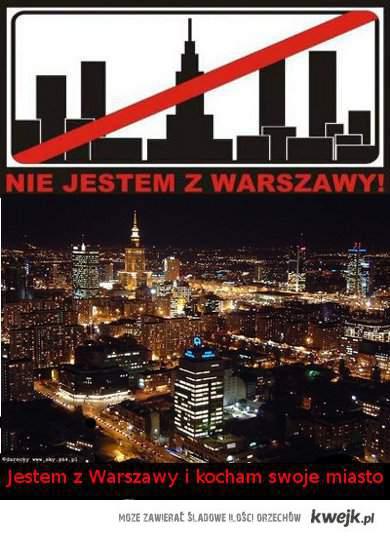 Jestem z Warszawy
