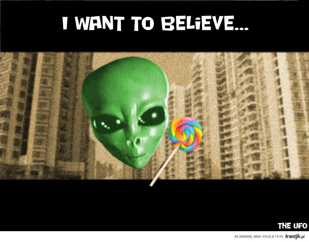 i want to believe - the ufo
