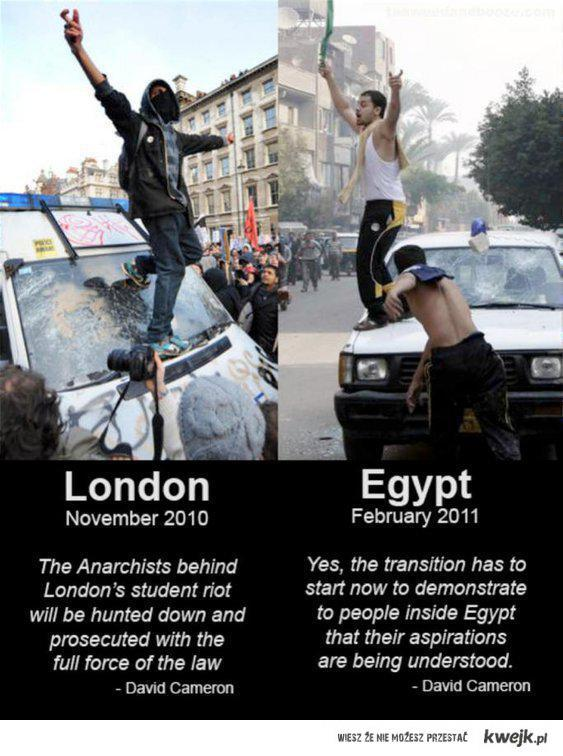 UK and Egypt