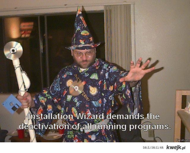 Instalation Wizard