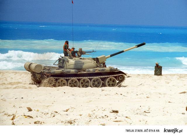 T-54 na egipskim poligonie