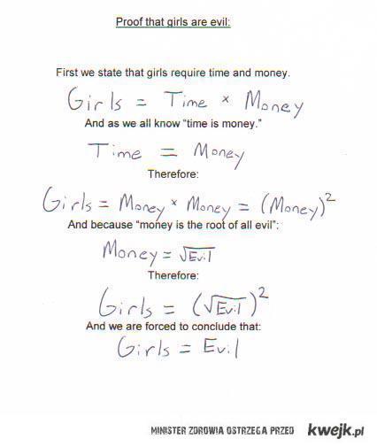 girls = evil