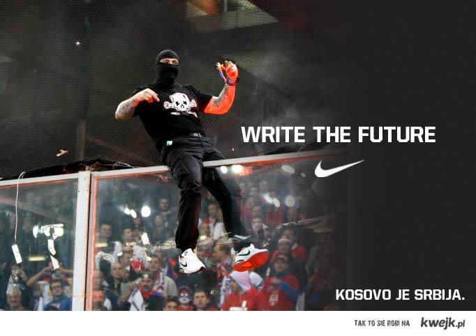 Nike - write the future