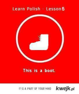 Learn Polish - Boot