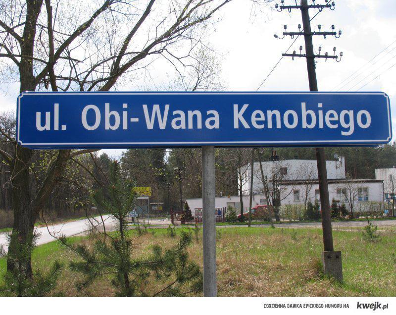 ul. Obi-Wana Kenobiego