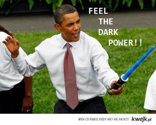 FEEL THE DARK POWER