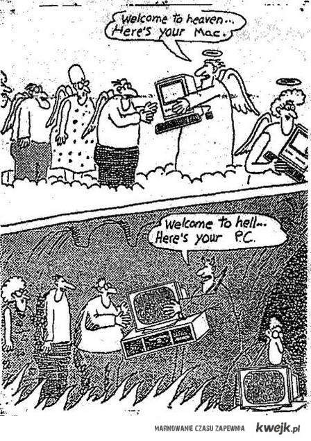 Mac vs PC gary larson