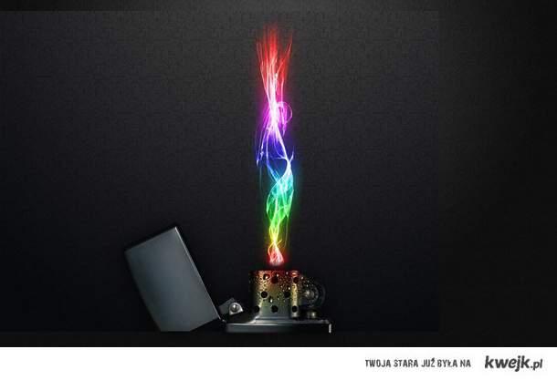 Kolorowy Ogień