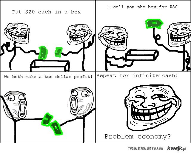 troll economics