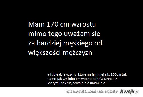 Męskie 1.7m