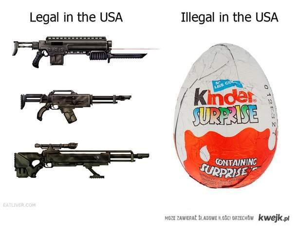 Legalne / Nie legalne w USA