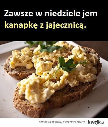 Jajecznica na chlebie