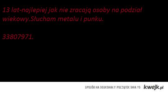 Napisz ;)
