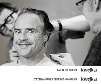 Marlon Brando - The Godfather Make up
