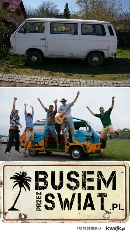 Busem Przez Świat - studenckie podróże starym hipisowkim busem