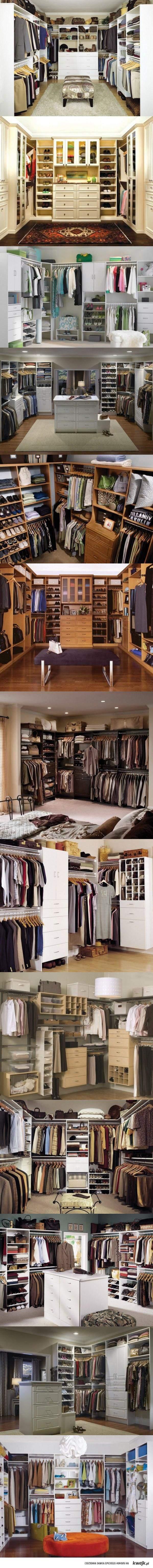ładne garderoby