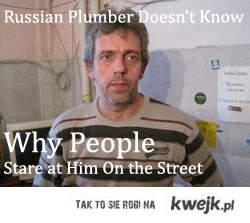 russian plumber