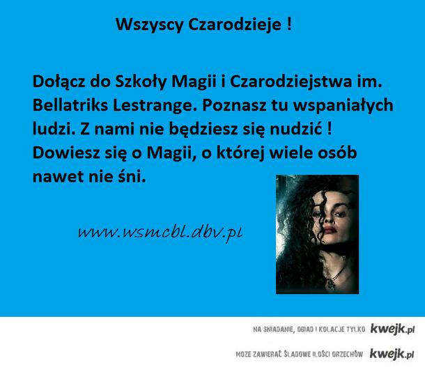 Szkoła Magii i Czarodziejstwa im. Bellatriks Lestrange
